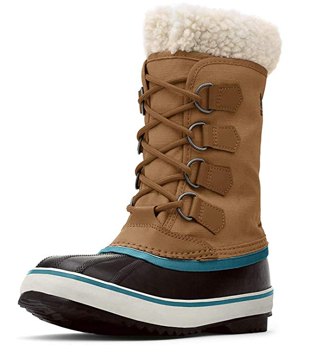 Sorel Women's Winter Carnival Boot, Camel Brown, 5 M US