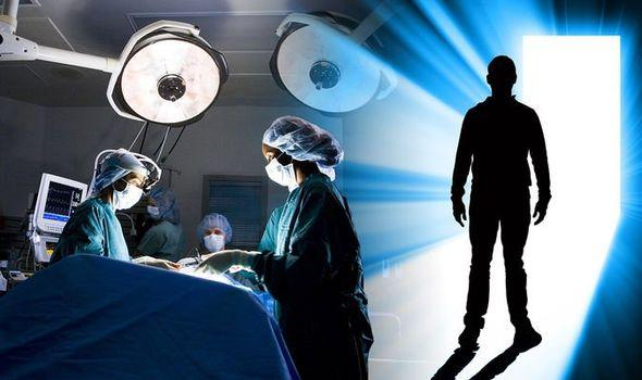 Life after death: Man on the operating table