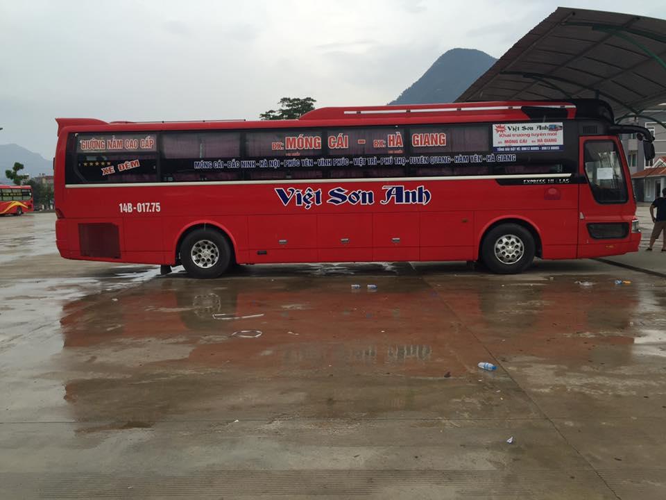 Xe Việt Sơn Anh từ Đà Nẵng đi Quảng Ninh