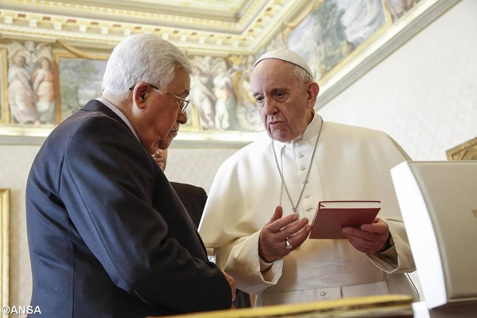 Đức Thánh Cha Phanxico gặp gỡ Tổng thống Palestine, Mahmoud Abbas