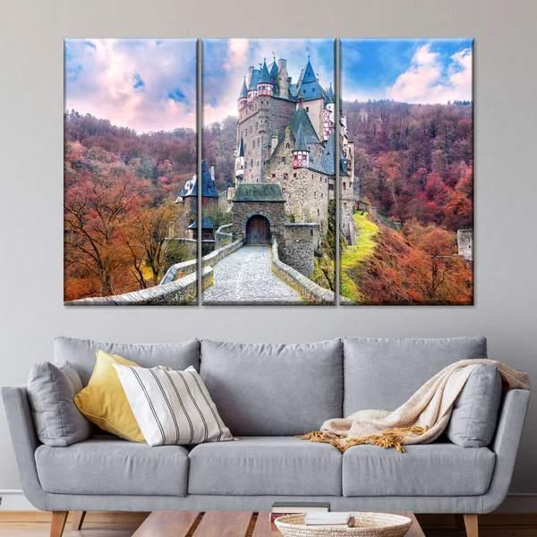 Fairytale Castle Wall Art