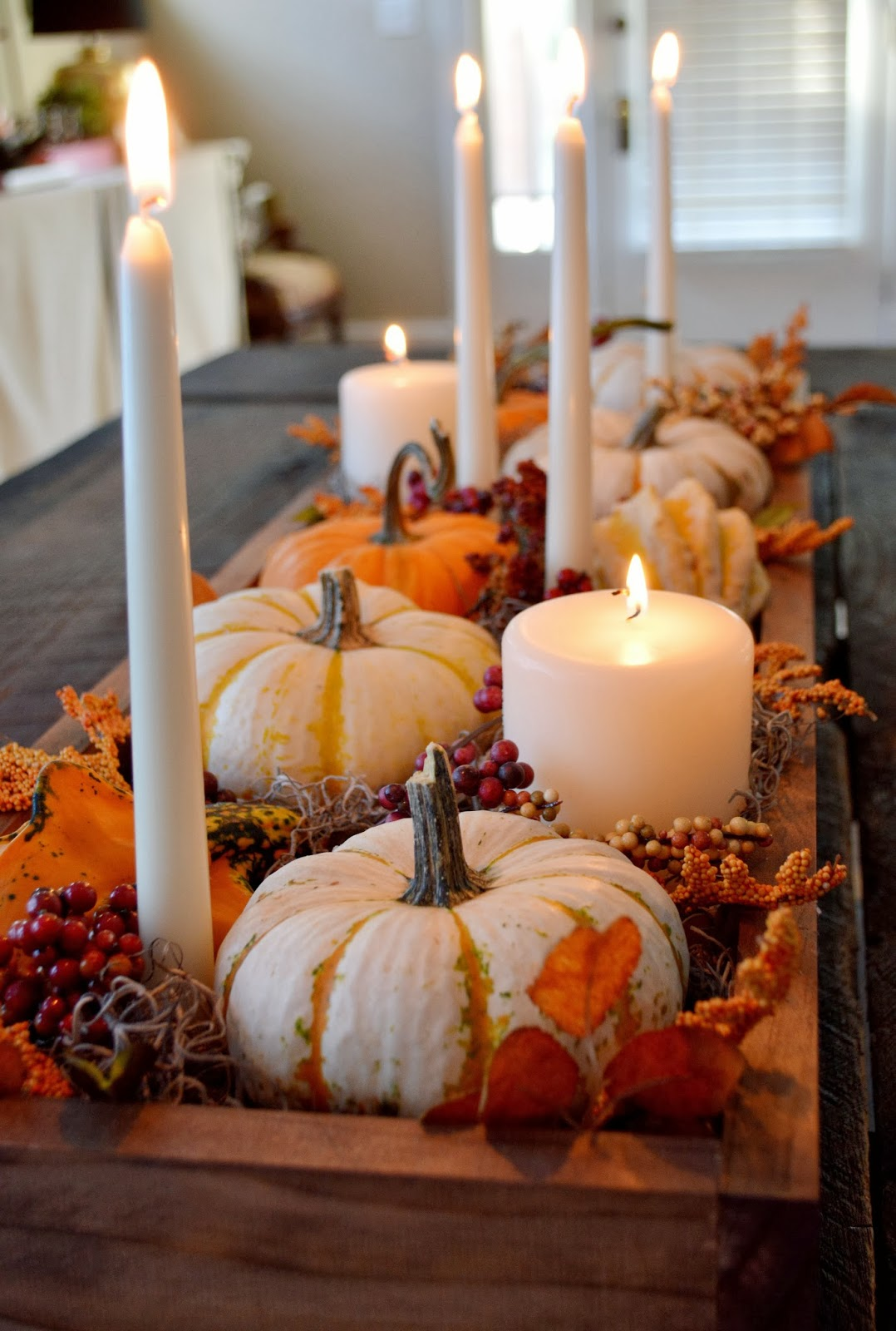 Dripless taper and pillars candles for fall 2016