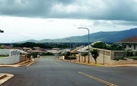 Mililani Community is four miles East of Schofield Barracks.