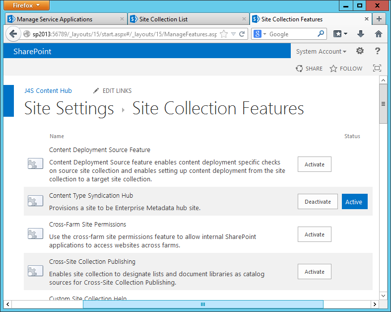 learning sharepoint understanding content type hub cth