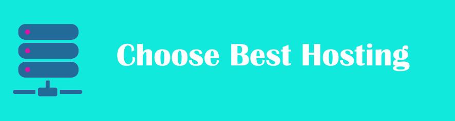 Choose best hosting