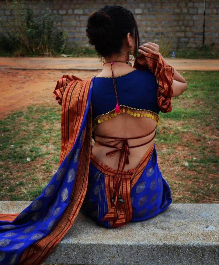 NAUVARI Sarees : A Maharastrian Delight to wear