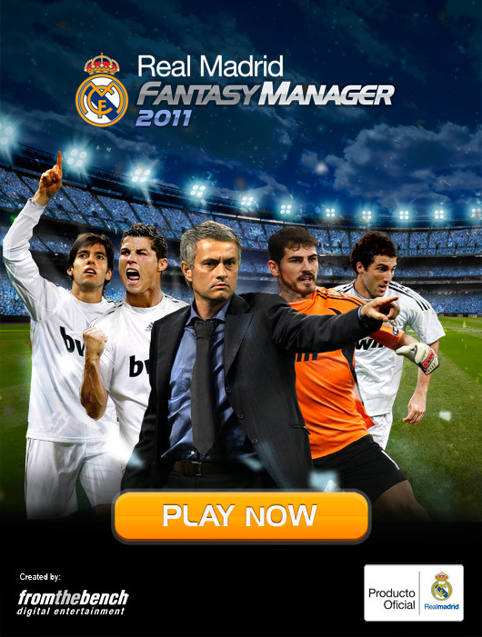 Controla la plantilla del club m�s laureado de la historia con Real Madrid Fantasy Manager 2011