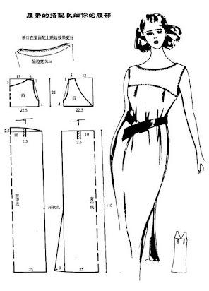 Ответы Mail.ru: Где найти выкройку платья отрезного по талии, с ... | 412x296