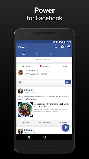 Power for Facebook- screenshot thumbnail