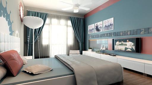 Phòng ngủ cho người mệnh thủy 1