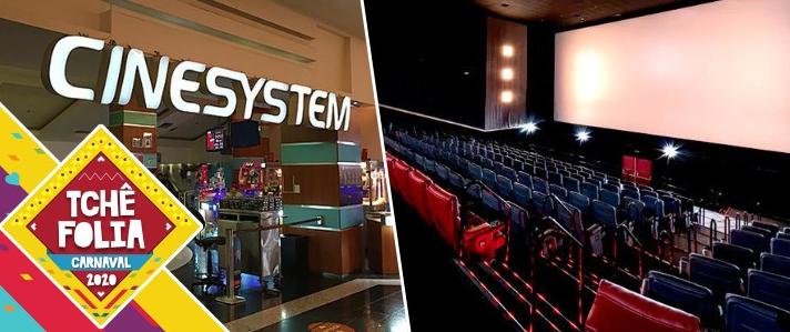 Oferta Ingresso Cinema Cinesystem shopping Total 2d e 3d