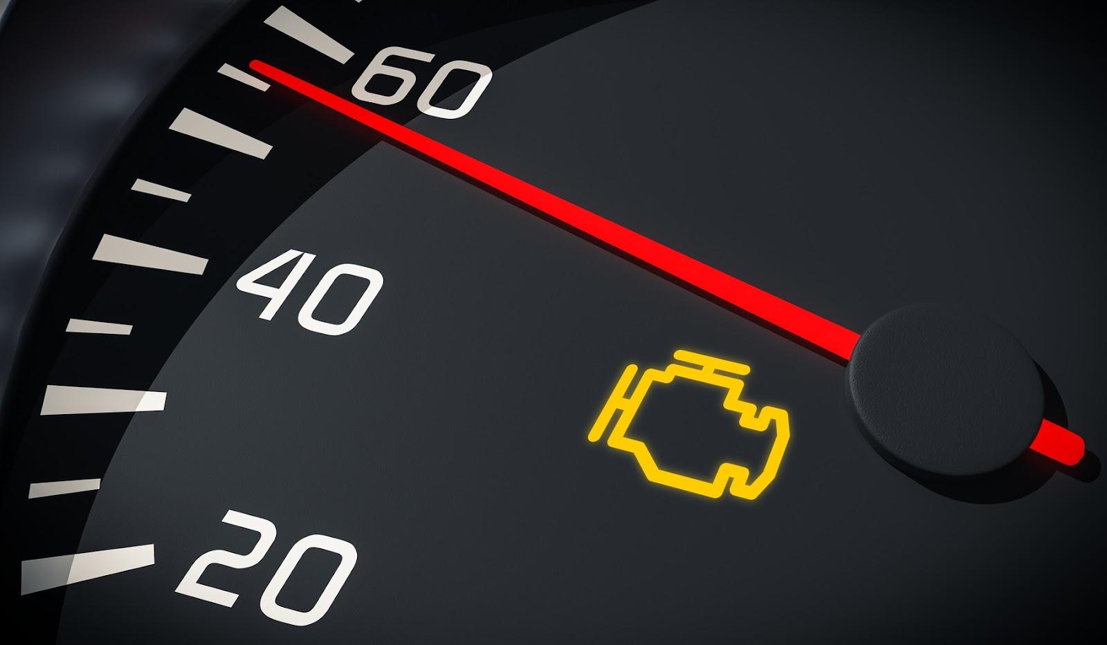 Check Engine Light Is On Check Engine symbol
