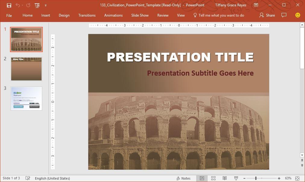 civilization-powerpoint-template