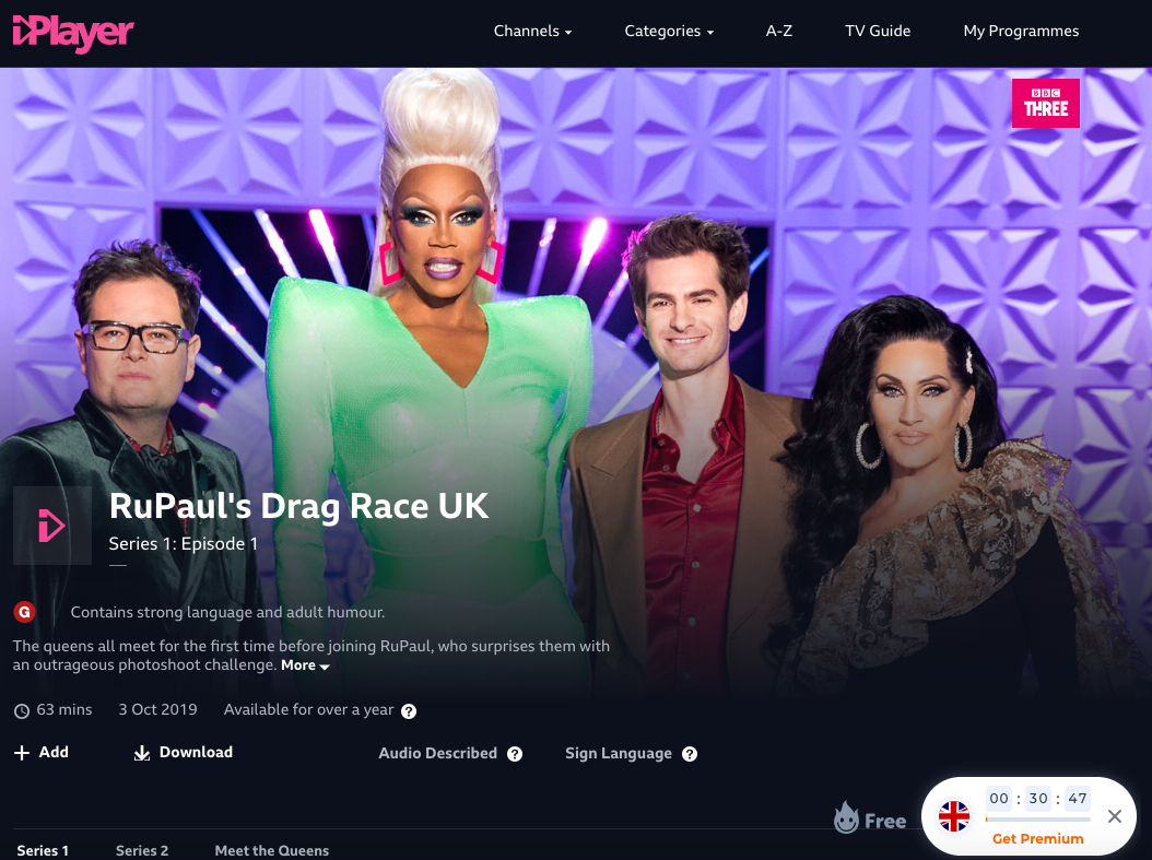 Hola VPN able to unblock BBC iPlayer