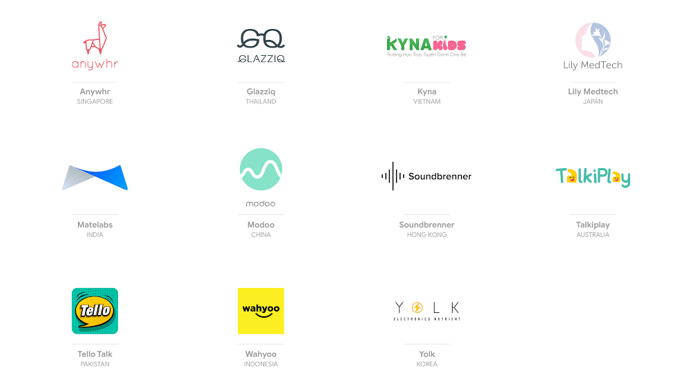Demo Day Asia finalists 2019