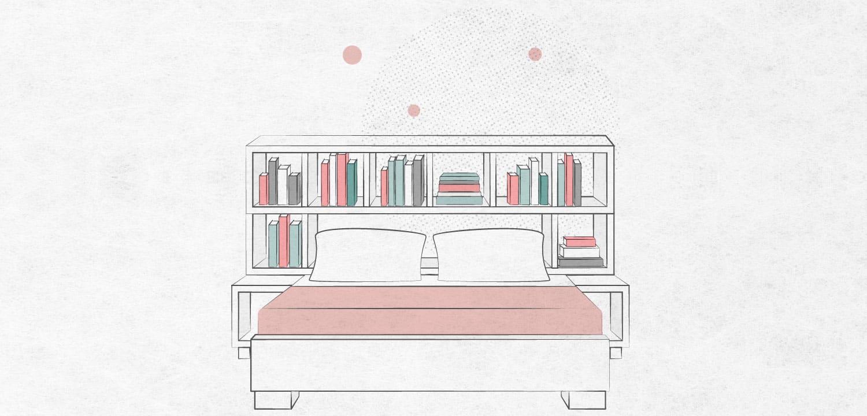 literary headboard