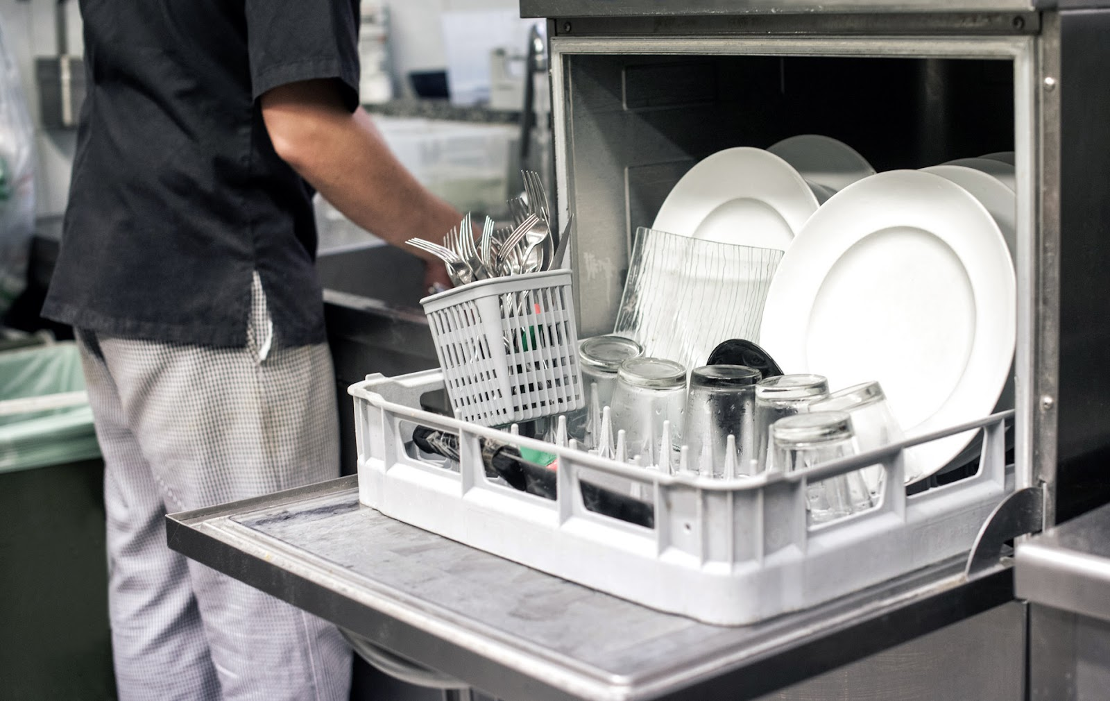 Restaurant Standard Operating Procedures Restaurant Dishwashing