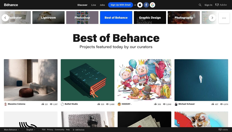best of behance