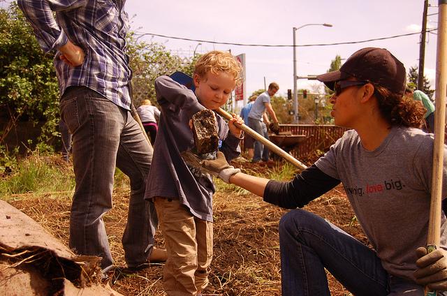 gardening, kids gardening