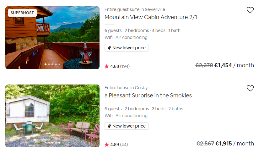 monthly discounts to optimize your Airbnb