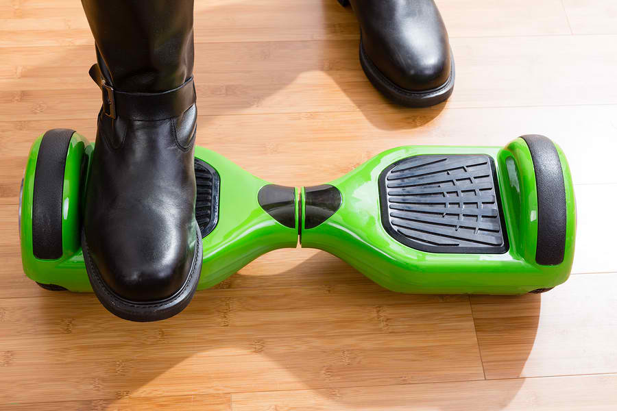 The sensors are key to hoverboard performance.