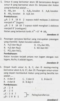 Contoh Soal Essay Kimia Kelas Xii