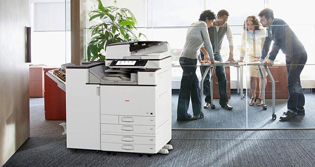Máy photocopy đa chức năng giúp bảo mật thông tin nội bộ của công ty hiệu quả