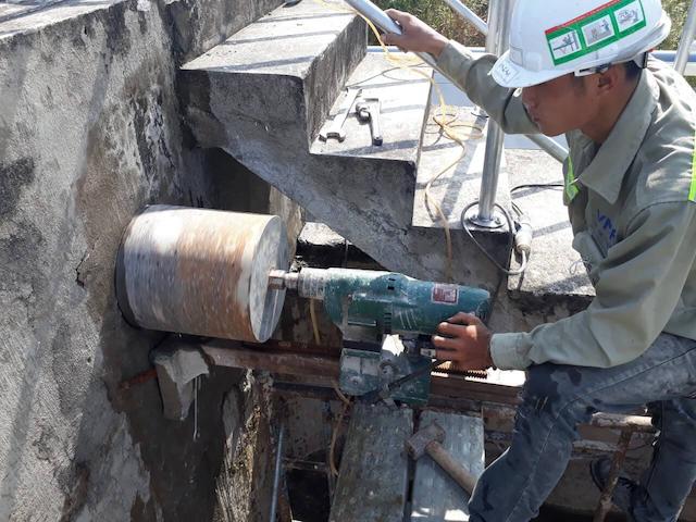 Dịch vụ khoan cắt bê tông tại long an ở khoancatbetongtphcm.vn