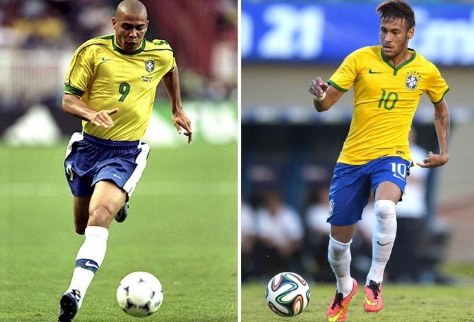 o que é um drible Ronaldo e Neymar