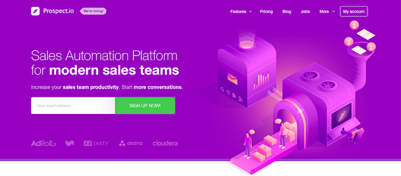 Prospect.io Marketing Automation Software