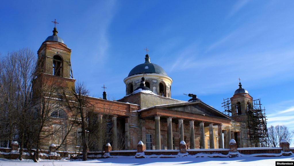 Стародубщина. Церква Святої Катерини в Ляличах Суразького району. Побудована в 1793–1797 роках