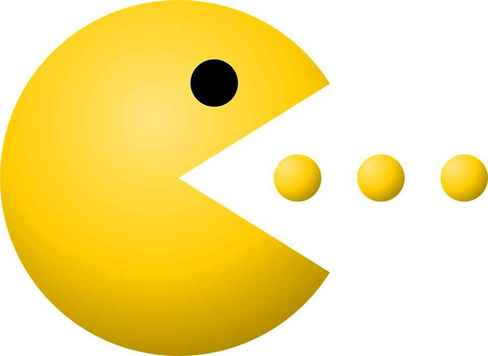 Free vector graphic: Pacman, Pac-Man, Dots, Game, Yellow - Free ...