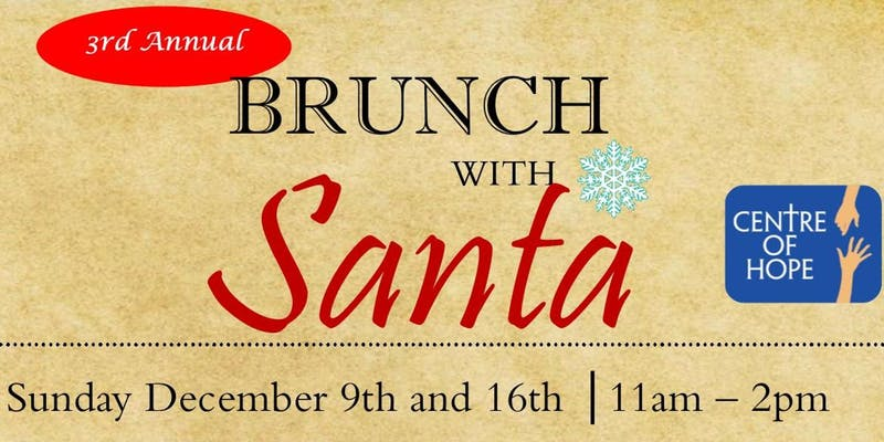 centre of hope brunch with santa
