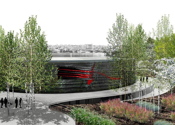 La Maison du Numérique (The House of Digital), a project by French architect Francis Soler with BIM management by It's.