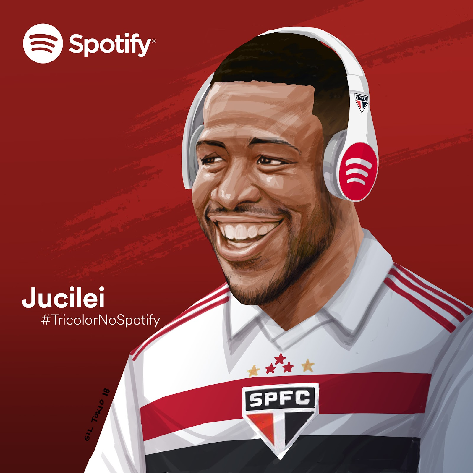 #TricolorNoSpotify: São Paulo faz parceria com Spotify no Brasil