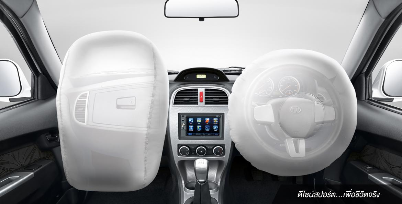 ระบบความปลอดภัยของรถยนต์ : TATA Xenon 150NX-Plore 4WD