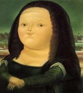 a Joconde, revue et corrigée par Botero