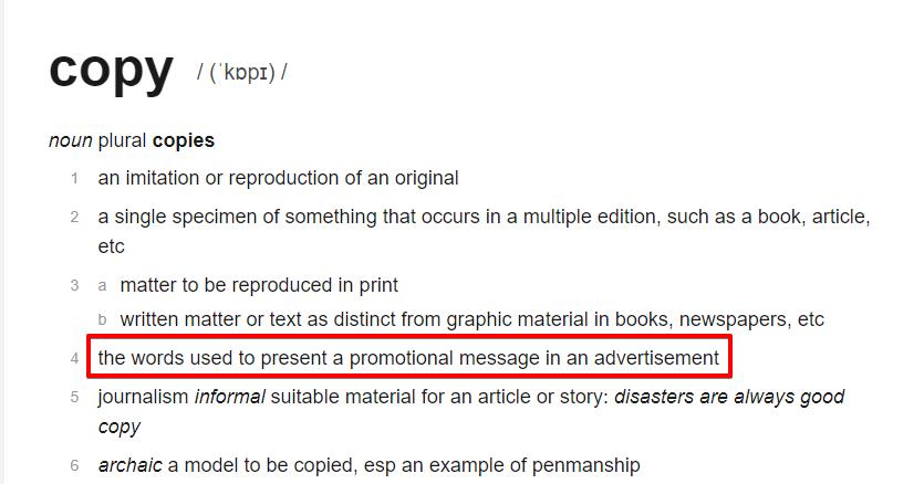 copywriter, content writer, seo copywriter – definicja copy