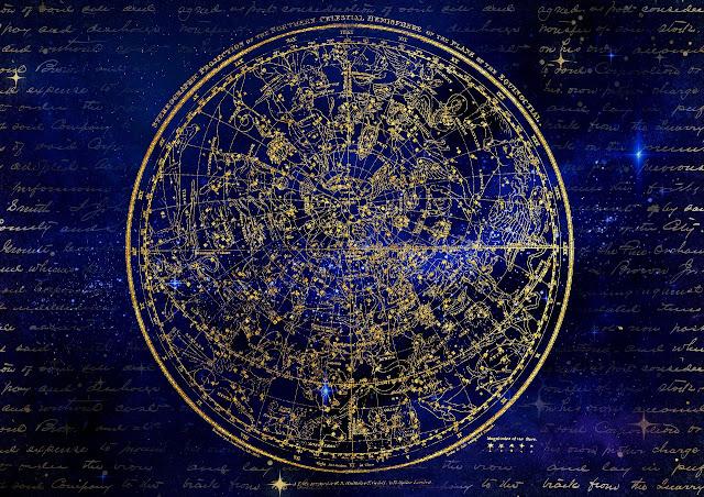 täysikuu tähtikartasto pohjoiselta pallonpuoliskolta katsottuna