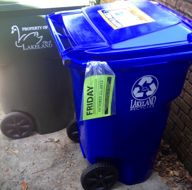 recycle and trash bins lakeland fl