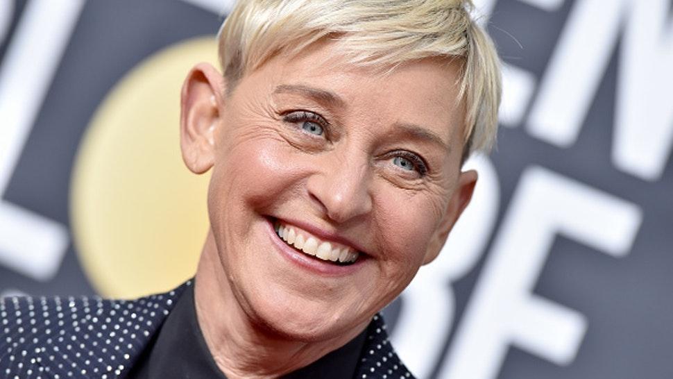 BEVERLY HILLS, CALIFORNIA - JANUARY 05: Ellen DeGeneres attends the 77th Annual Golden Globe Awards at The Beverly Hilton Hotel on January 05, 2020 in Beverly Hills, California.