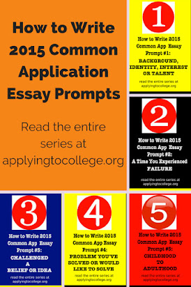 Common app essay examples prompt 1