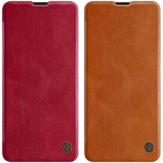 Кожаный чехол (книжка) Nillkin Qin Series для Samsung Galaxy A51 ...