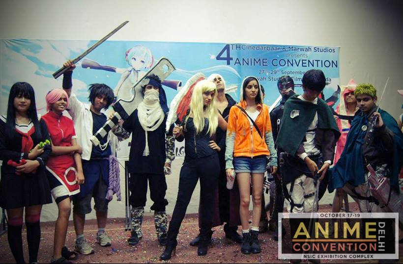 5 reasons why you should attend Anime Con India 2014   Event Magazine