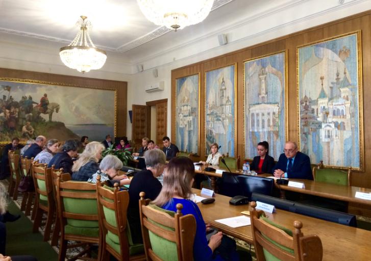 Заседание координационного совета по делам ветеранов и инвалидов