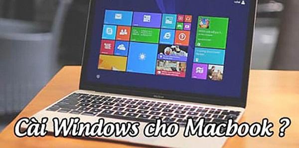 Cách cài win cho macbook