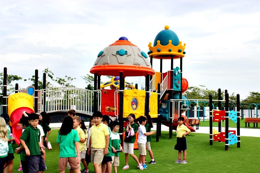 Tìm hiểu về thiết bị sân chơi cho trẻ em
