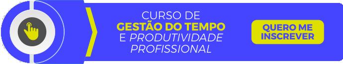 curso de gestão do tempo e produtividade profissional
