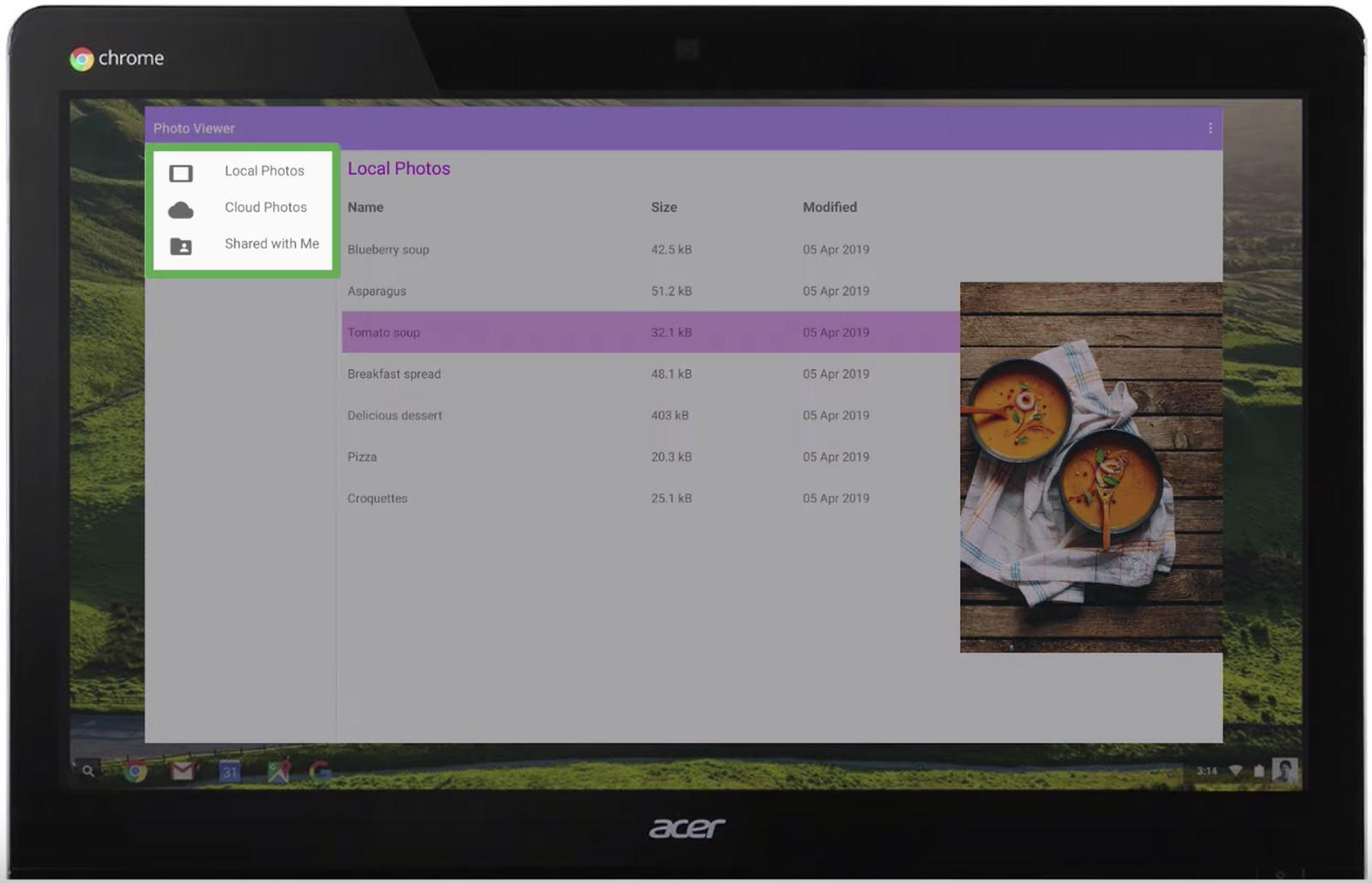 Desktop screen screenshot