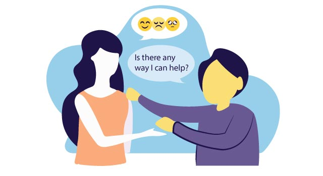 Research says that asking open-ended questions while someone is sharing concerns